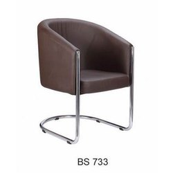Leatherette Cafe Chair