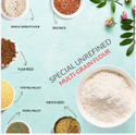 Earthspired Multigrain Flour Mix with Seeds And Low Glycemix Ingredients