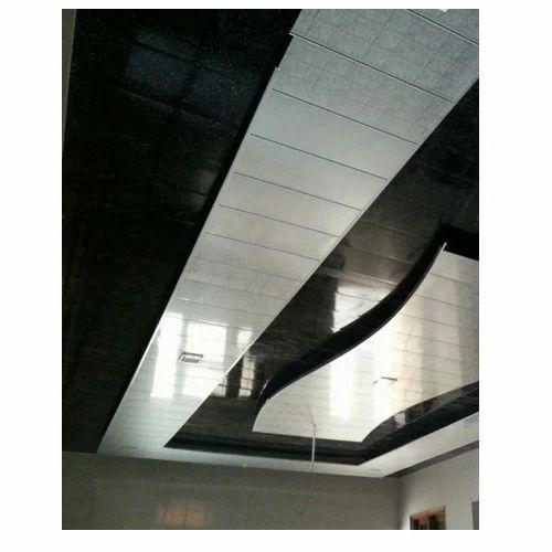 Pvc Sheet Wall Ceiling At Rs 20 Running Feet Pvc Ceiling Panel Id 16789986812