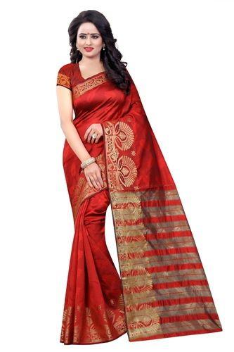 ba4537a30ea Banarasi Silk Designer Jacquard Saree at Rs 799  piece