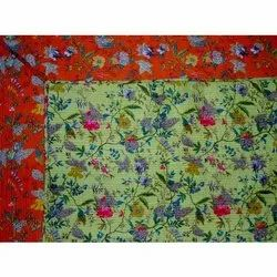 Cotton Print Reversible Machine Quilts