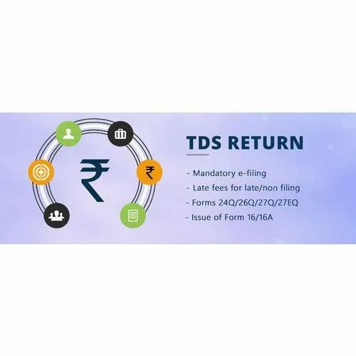 E TDS Return Filling Service, in Pan India