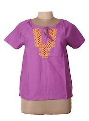 Ladies Casual Embroidered Top