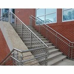 Stainless Steel Staircase Railing, for Home,Office