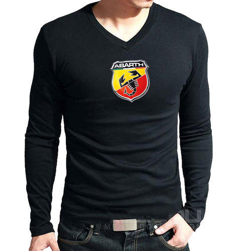 Black Printed Abarth T Shirts, Rs 140 /piece, Saira Fashions ...