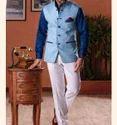 Jute Party Mens Designer Waistcoat