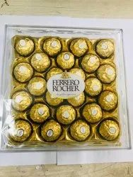 Round Ferroro Rocher Chocolate, Very Nice Packaging