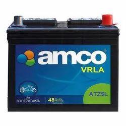 12V Warranty: 48 Months Amco ATZ5L ATZ-VRLA Bike Battery