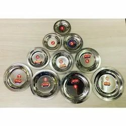 Round Stainless Steel Lid, For Stainless Steel Lids, Size: 1 To 11