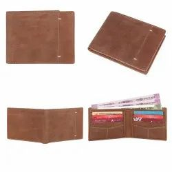 Bifold wallet for men leather