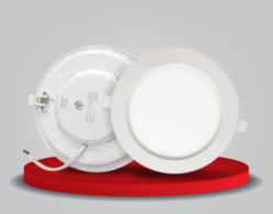 Plastic Round Panel Light 18 Watt