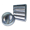 Nuveq Galvanized Steel (gi) Non Return Damper, For Volume Control