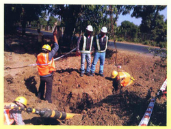 Gas Pipe Line Laying Service