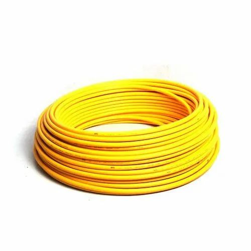 Yellow 1.25 Inch Composite Gas Pipe, Thickness: 2-5 Mm