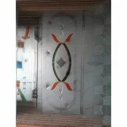 Decorative Wall Glass, Thickness: 2-10 Mm