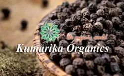 Seeds Kumarika Polycrop Pvt. Ltd Organic Black Pepper, Packaging Size Available: 50kg