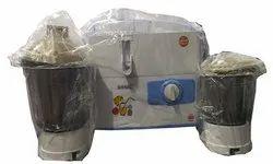 Sonic 450 W Juicer Mixer Grinder, For Kitchen, Capacity: 2 Jars