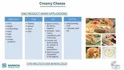 Sevencia Creamy/Filler Frozen Cheese, For Office Pantry, Packaging Type: Packet
