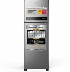 Whirlpool 265 L 3 Star Frost Free Double Door Refrigerator (IF CNV 278 ELT (3S), Magnum Steel)