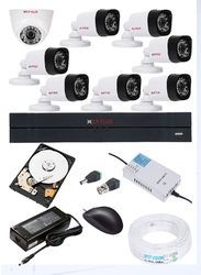 DVR 1Pcs,Dome Camera 1Pcs,Bullet Camera 7Pcs,1 TB HDD 1Pcs, Wire Bundle 1Pcs, Smps 1Pcs,BNC AND DC