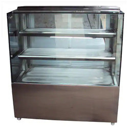 Square Display Refrigerated Counter