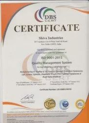 ISO Certification