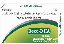 DHA, EPA, Methylcobalamin, Alpha Lipoic Acid And Minerals