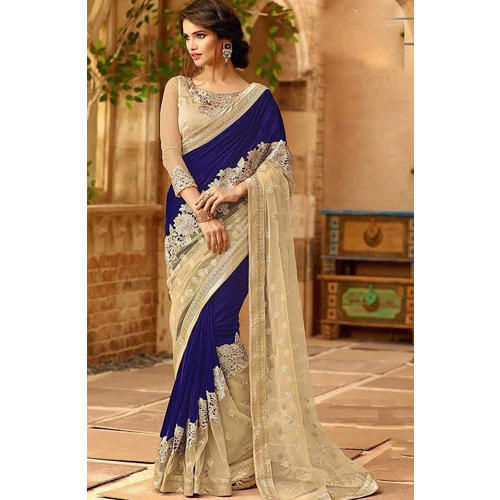 a0817483ce10f RCPC Designer Wear Velvet Saree at Rs 3399  piece