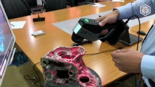 3D Laser Scanner_Wireless FreeScan X7Plus_Precise3D, 480, 000 Scans