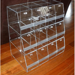 Acrylic Storage Rack