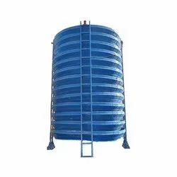 Fiberglass Reinforced Polyester Natural Draft Cooling Tower, Round, Capacity: 3 Tr To 400 Tr