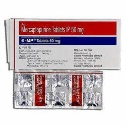 6-MP Mercaptopurine 50mg Tablets, Cadila