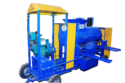 Single Drum Clay Brick Making Machine With Diesel Engine