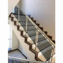 Steel Staircase Railings at Best Price in India