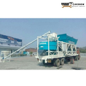 Truck Mounted Concrete Batching Mixing Plant