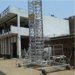 Straight Square Telescopic Tower Ladder