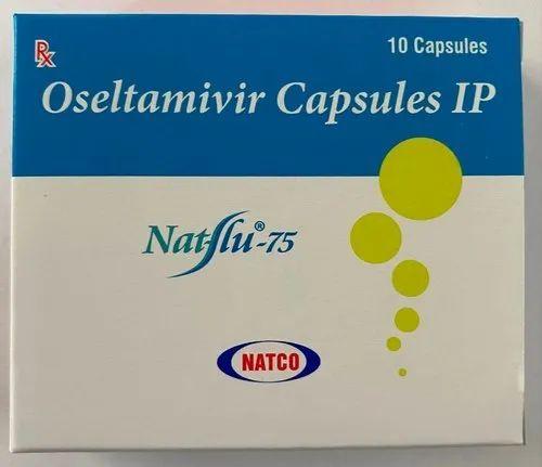 Natflu 75mg Capsules ( Oseltamivir 75mg - Natco Pharma )