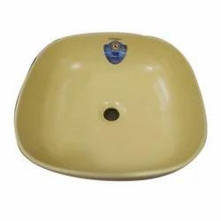 Yelow Yellow Ceramic Wash Basin