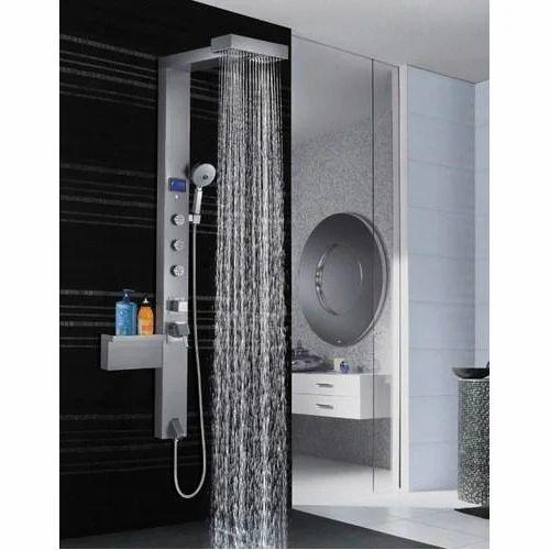 Stainless Steel Colston Premium Shower, Bathroom Shower Panels