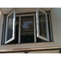Hinge UPVC Casement Window, for Home