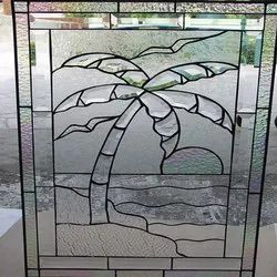 Figured Designer Glass