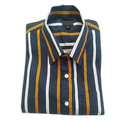 Mens Casual Wear Full Striped Shirt