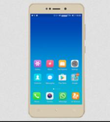 Gionee X1 Mobile Phone, Memory Size: 16GB