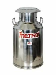 40 Liter Stainless Steel Milk Can