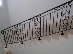 Cast Iron Railing Panel