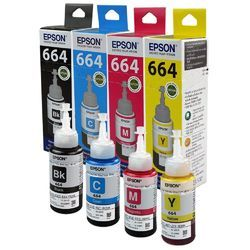 Epson 664 Color Printer Ink Bottle
