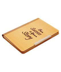 Sai Enterprises Single Line Wooden Notebook, for Office