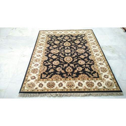 Hand Knotted Rectangular Floor Carpet