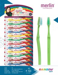 merlin - Rainbow Toothbrush