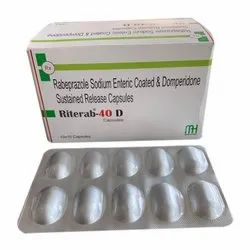 Rabeprazole Sodium Enteric Coated And Domperidone Sustained Release Capsules